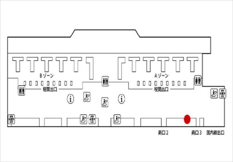 成田国際空港 第2旅客ターミナル 地図